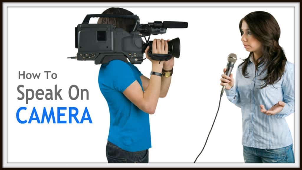 How to speak on camera like a pro - speaking tip - Bryan Toder